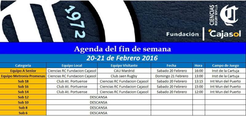 Agenda Rugby en sevilla