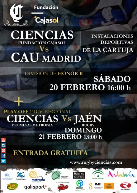 artel CIENCIAS VS CAU MADRID RUGBY