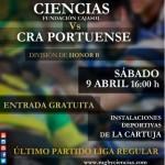 CIENCIAS RUGBY SEVILLA vs CRA PORTUENSE (Cartel de C. Benito)