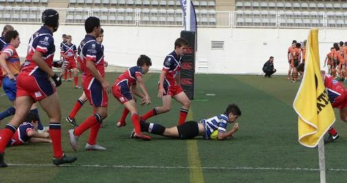 sub18 campeones del torneo nacional de rugby 8