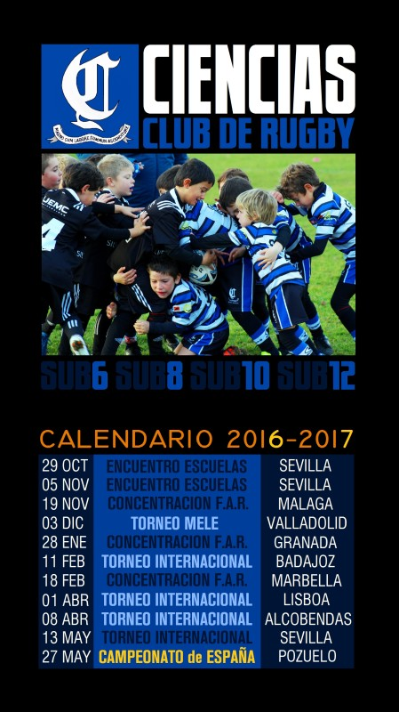 CALENDARIO RUGBY BASE modificado 31/01/2017