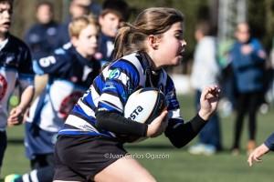 Foto: Juan Carlos Ogazón SUB10 Escuela de rugby del Ciencias GRANADA 28/01/2017
