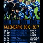 Calendario sub6, sub8, sub10, sub12 2016/2017